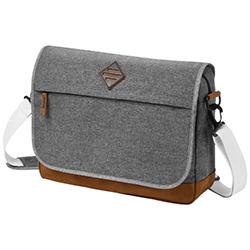 Laptoptaschen aus Leder: Bedrucken oder Besticken