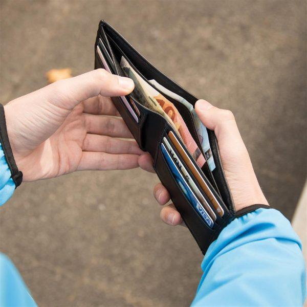 Swiss Peak RFID Anti-Skimming Portemonnaie – Detailansicht 7