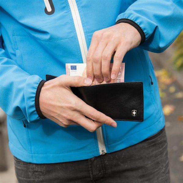 Swiss Peak RFID Anti-Skimming Portemonnaie – Detailansicht 8