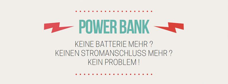 Powerbank Infografik - So funktionieren die mobilen Stromhelfer