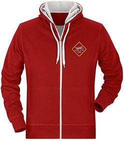 Pullover besticken lassen mit eigenem Motiv oder Logo,