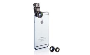 Smartphone-Gadgets: Kamera-Linsen-Set als Werbemittel