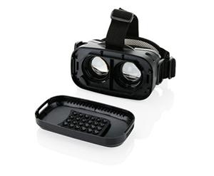 Smartphone-Gadgets mit Logo: VR-Brille