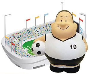 Soccerbert + Stadion als Werbeartikel zur Fußball EM 2016 in Frankreich