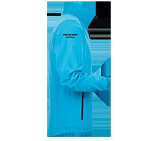 Softshell-Jacke individuell bedrucken lassen auf dem Ärmel