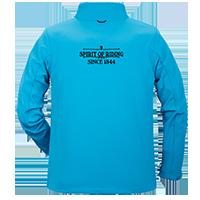 Softshell-Jacke individuell bedrucken lassen - Rückenansicht mit großem Logo