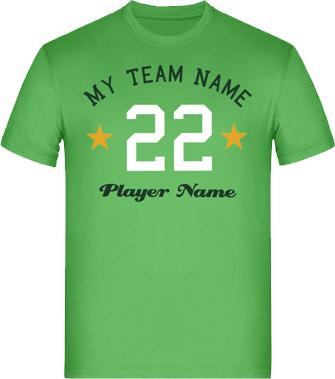 T-Shirts mit Logo, Schriftzug und Bild selbst gestalten