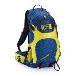 Tracking-Rucksack in Blau/Gelb selbst gestalten