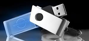 USB-Stick mit 3D Logo