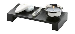 Werbeartikel-Kerzen im Set – Duftkerze im Zen-Set