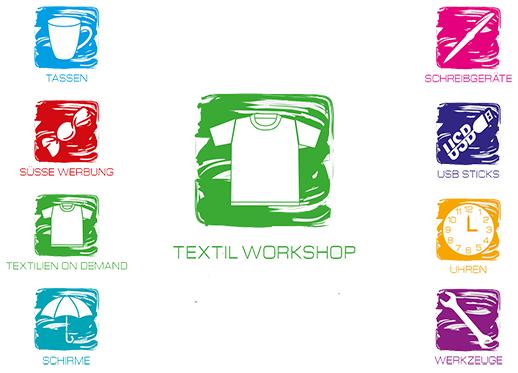 Werbeartikel Neuheitentag - Produkte und Textil-Workshop