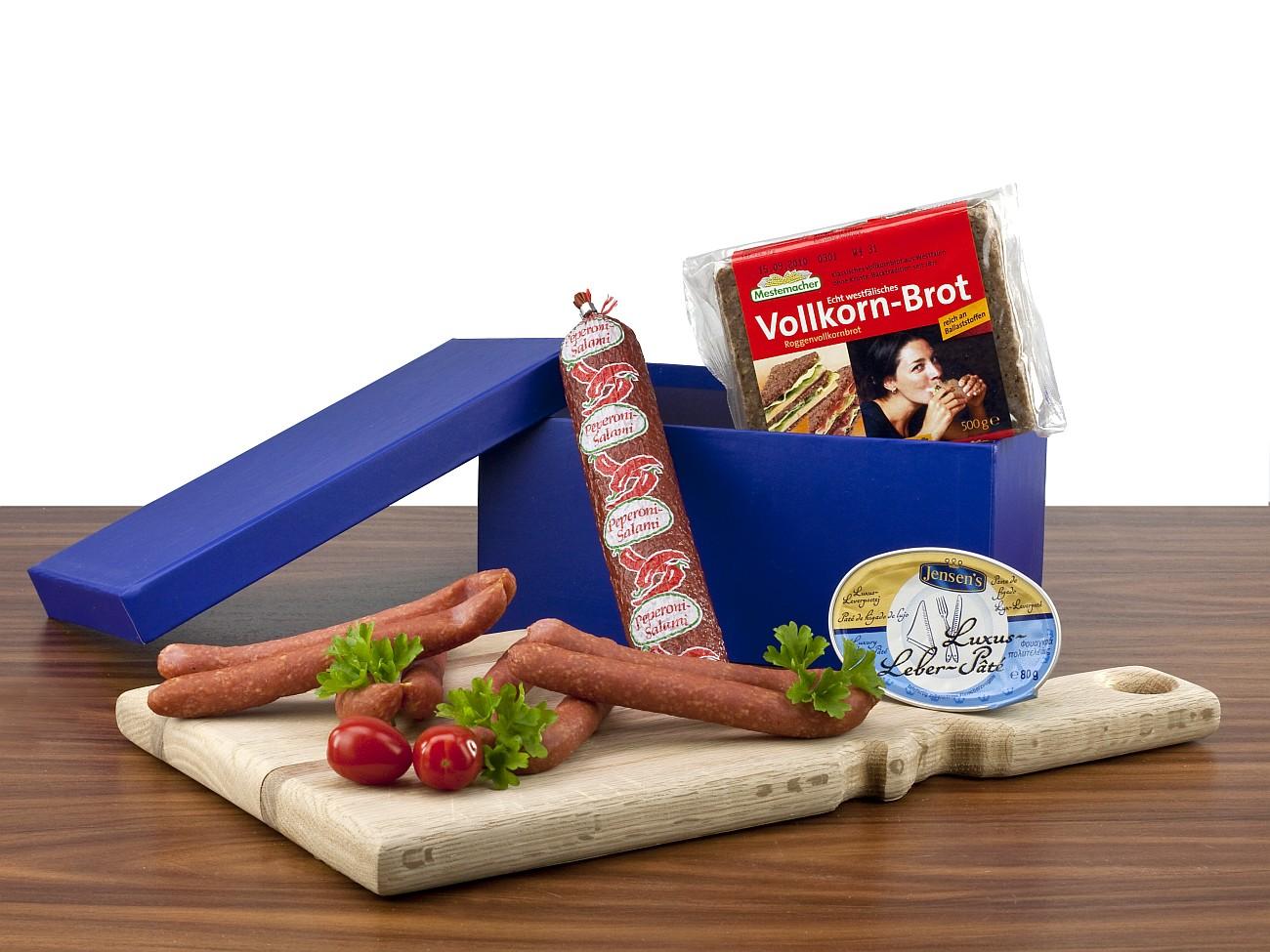 herzhafte brotzeit werbegeschenk zu weihnachten presit. Black Bedroom Furniture Sets. Home Design Ideas