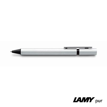 LAMY pur 247 in Silber - Clip Detailansicht